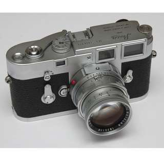 Leica M3 Single Stroke High serial number with Leica DR Summicron 50mm F2.