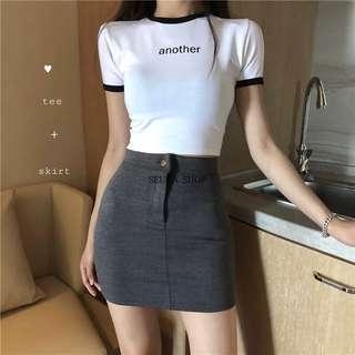 🚚 彈力包臀短裙