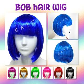 < CATZ >  BOB Hair Wig Short Hair Wig Party Hair Wig Party Accessories