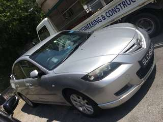 Mazda 3 rental. Clean and well maintained vehicle. See to believe.