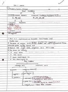 Sec 1&2 Maths Notes