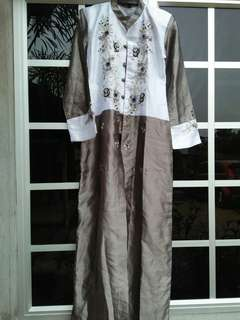 Jubah tailor made from indon