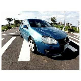 『上嘉汽車』2005年 福斯-GOLF 1.9TDI 藍-六速DSG變速系統