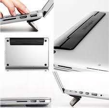 Kick flip laptop stand