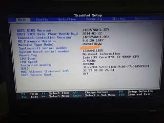 Selling my laptop Lenovo thinkpad