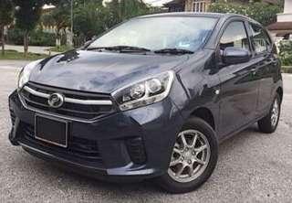 Perodua Axia for Rental