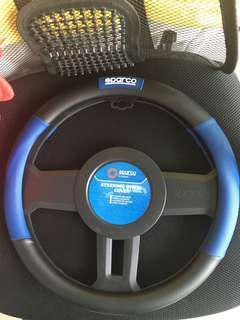Original Sparco steering wheel cover
