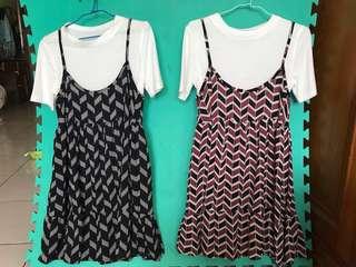🚚 兩件式小洋裝