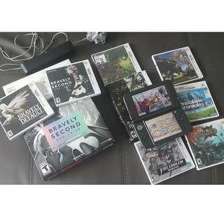Nintendo 3DS XL + 8 Games