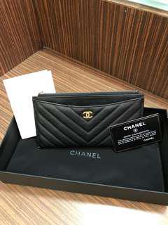 Chanel 長銀包(全新)