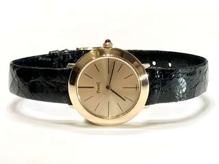 Piaget (伯爵) Vintage Lady Automatic Watch (18K Yellow Gold)