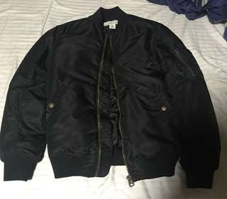 H and M L.O.G.G. Bomber Jacket
