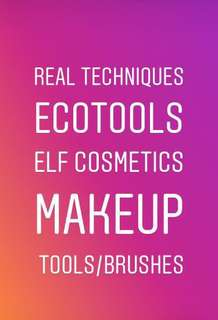 (PO) Real Techniques Brushes