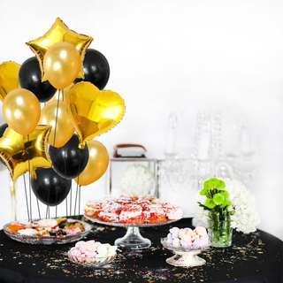"14pcs/lot 12 & 18"" mixed balloon bouquet"