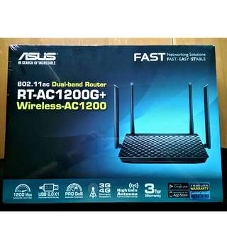 Asus RT-AC 1200G+ 802.11ac Dual Band Router