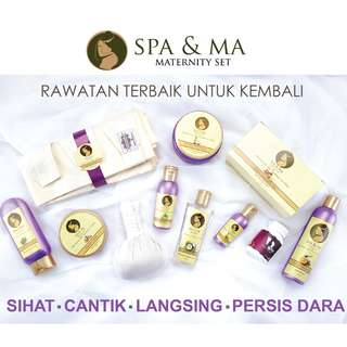 SPA & MA SET BERSALIN
