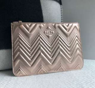 Chanel O Case Medium Rose Gold