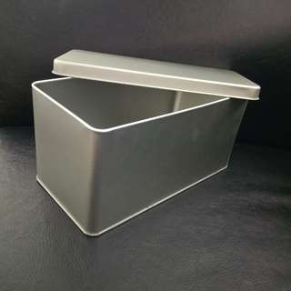Silver Tin Box. Brand new, never used