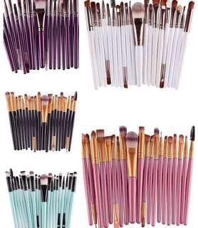 20 pcs brushes