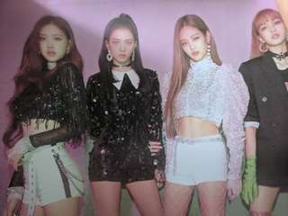 "BLACKPINK Poster ""Square Up"""