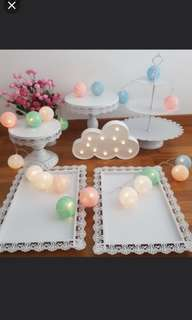 Dessert cake stand for rent