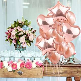 "14pcs/lot 12 & 18"" balloon bouquet"