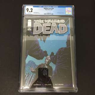 Walking Dead 68 CGC Image Comics Book Zombie TV Movie