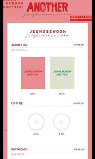 Jeong Sewoon Album: Another