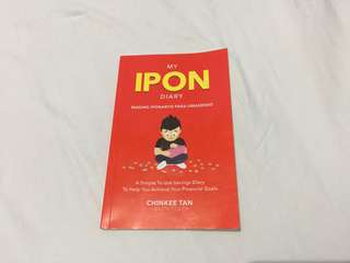 MY IPON DIARY chinkee tan