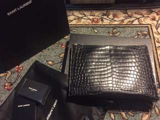 YSL Holder Bag Clutch Pouch
