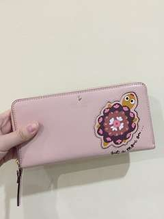 Dompet Panjang Kate Spade Long Wallet (Pink)