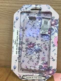 100% 全新少女系 粉紫色 手機殼 iPhone 6/6S