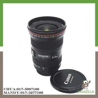 CANON LENS EF 16-35mm 1:2.8 L II USM