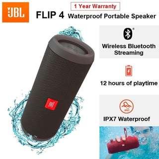 JBL Flip 4 Bluetooth Wireless Portable Waterproof Speaker