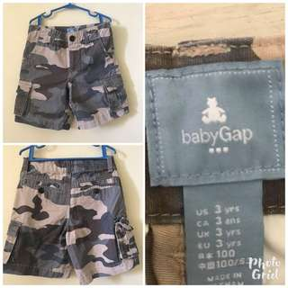 Authentic Gap Camouflage shorts