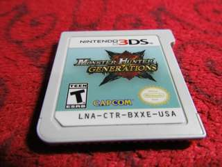 Monter Hunter Generations 3DS