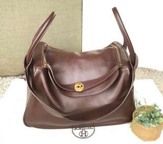 Hermes lindy 34 chocco second