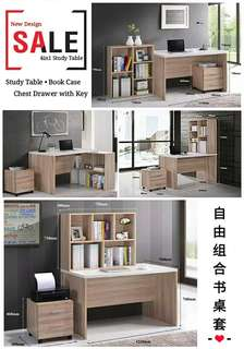 4in1 Study Table