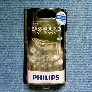 🚚 飛利浦 Philips SHE3595 耳道式 入耳式