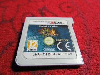 Monster Hunter Ultimate 3DS