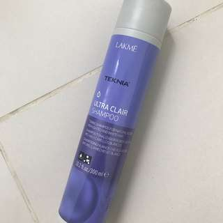 Ultra Clair colour shampoo