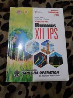 Buku rumus IPS buku ganesha operation