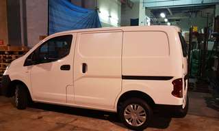 Van for delivery
