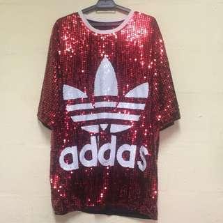 Adidas Tshirt bling bling