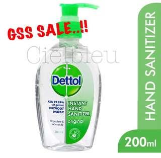 🚚 Dettol Instant Hand Sanitizer 200ml