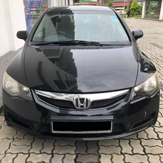 Honda CIVIC AFFORDABLE RENTAL