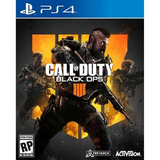 [Oct 12] PS4 Call of Duty: Black Ops 4 Sony PlayStation Activision Shooting Games PREORDER