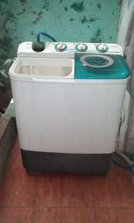 Mesin cuci 2 tabung sanken nego sampe jadi. BU