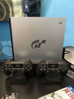 PlayStation 4 PS4 Slim 1TB Gran Turismo Limited Edition
