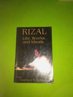 Rizal life,works and ideals